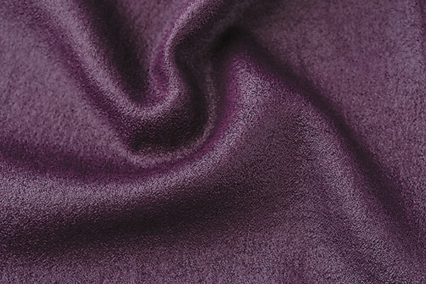 Takisada-Nagoya Co Ltd: A hybrid of technology and classical Georgette weaving. The fabric's liquid-like shine gives it a bold touch (polyester 100%)