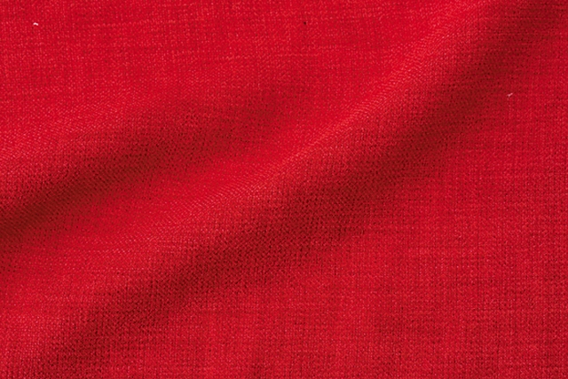 Debs Textile Corporation: Linen-like and soft at a gla-nce, but with a shockingly different texture. Intricately woven and thoroughly stretchable (polyester 100%)