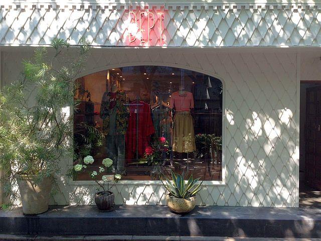 目黒川沿いのマザーのショップ1階をデプトに改装した