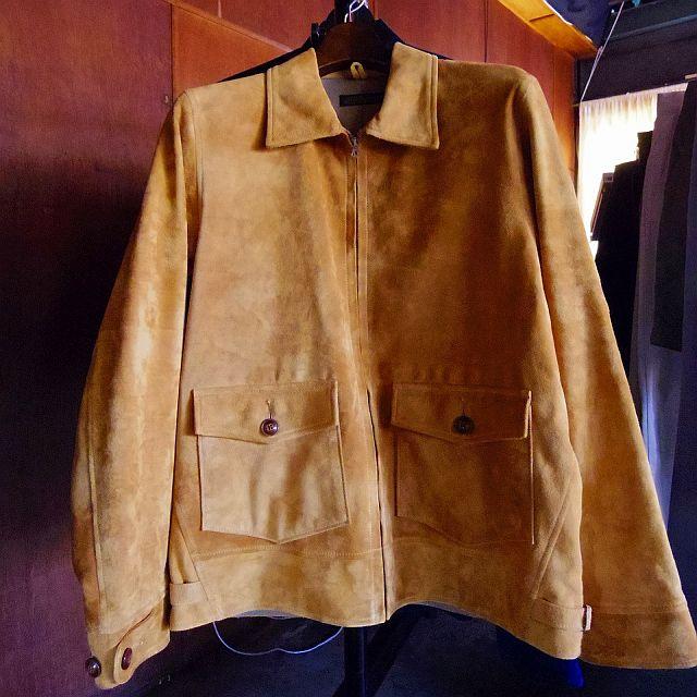 16年春夏物のスエードジャケット