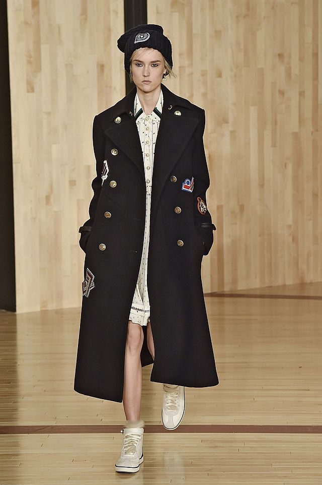 Coach Fall Winter 2016 New York Fashion Week  Copyright Catwalking.com 'One Time Only' Publication Editorial Use Only