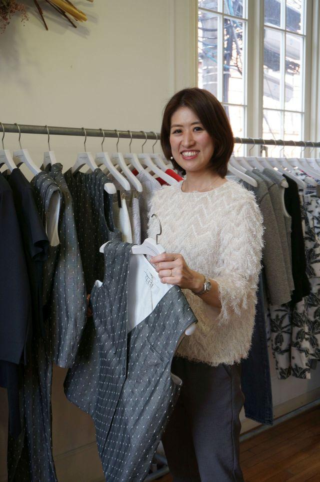 「同じブランドに長くいて、業界の皆さんと共に歩んできたことが糧になっている」と山本さん