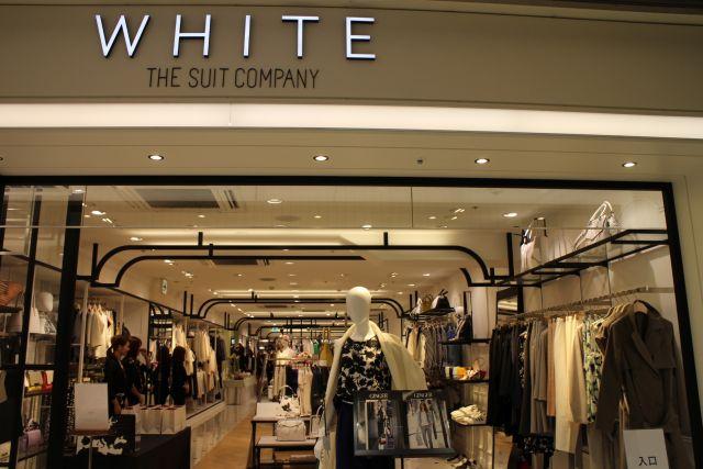 スーツ専門店① 今年からレディスの単独店もスタートした青山商事の「ザ・スーツカンパニー」