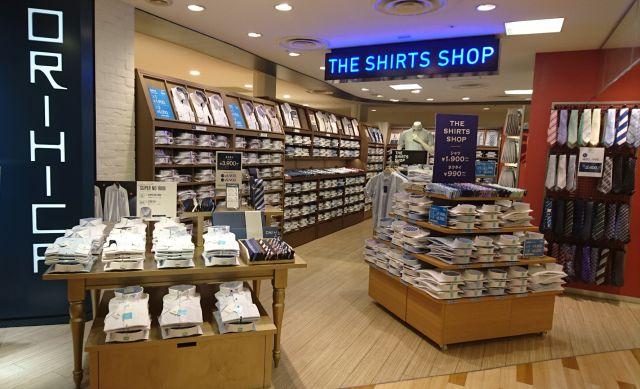 スーツ専門店① クールビズ対応や女性の代理購買も狙いシャツ売り場を強化する「オリヒカ」