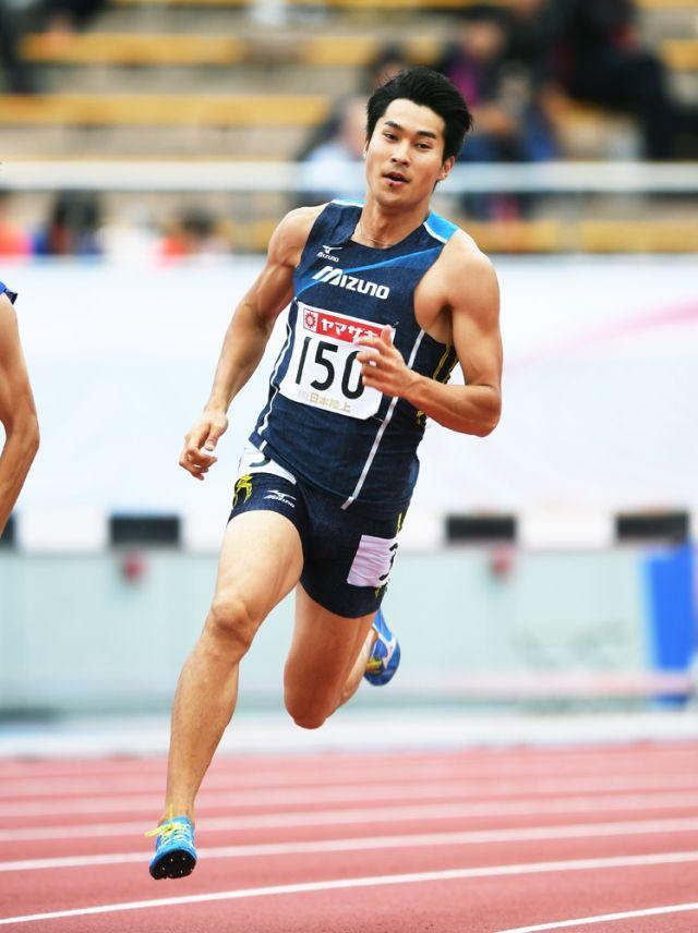 12年のロンドン五輪に続いて代表に選ばれたミズノの飯塚翔太選手
