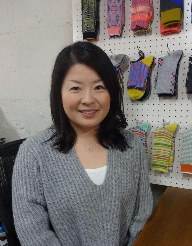 自分のブランドを海外でも販売している阿賀岡さん