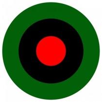 イグアナの目をイメージしたロゴ