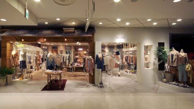 11年に改装した「スナイデル」ルミネ新宿ルミネ2店
