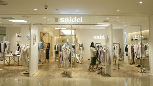 今秋改装した「スナイデル」ルミネ池袋店