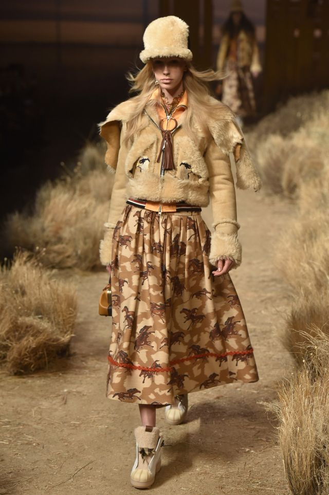 Coach Fall Winter 2017 New York Fashion Week Copyright Catwalking.com 'One Time Only' Publication Editorial Use Only